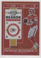 Season Ticket - Patrick Mahomes II #/199