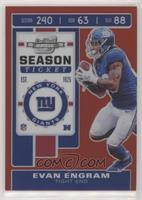 Season Ticket - Evan Engram #/199