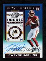 Rookie Ticket - Dwayne Haskins #/149
