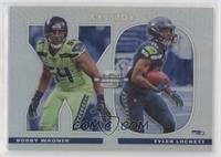 Bobby Wagner, Tyler Lockett [EX to NM] #/165