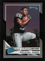 Rated Rookies - Josh Jacobs #/75