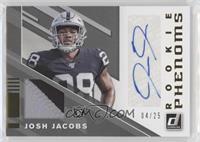Josh Jacobs #/25