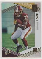 Rookies - Bryce Love [Noted] #/699