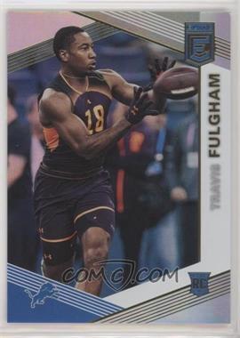 2019 Panini Donruss Elite - [Base] #167 - Rookies - Travis Fulgham /699