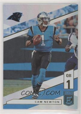 2019 Panini Donruss Elite - [Base] #37 - Cam Newton