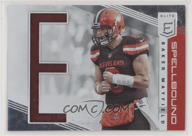2019 Panini Donruss Elite - Spellbound #SP-17 - Baker Mayfield /299