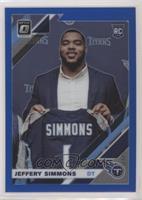 Rookies - Jeffery Simmons #/150