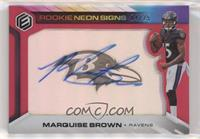 Marquise Brown #/25