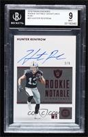 Hunter Renfrow [BGS 9 MINT] #/9