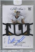 Flawless Rookie Patch Autographs - Drew Lock [Uncirculated] #/1