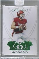 Baker Mayfield [Uncirculated] #/5