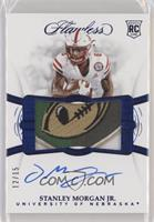 Flawless Rookie Patch Autographs - Stanley Morgan Jr. #/15
