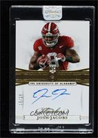 Flawless Rookie Gems Signatures - Josh Jacobs [Uncirculated] #/25