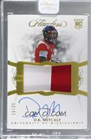 Flawless Rookie Patch Autographs - DK Metcalf [Uncirculated] #/25