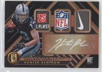 Rookie Jersey Autographs Triple Prime Tag - Hunter Renfrow #/1