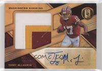 Rookie Jersey Autographs Jumbo Prime - Terry McLaurin #/49