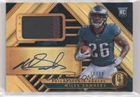 Rookie Jersey Autographs Premium - Miles Sanders #/19