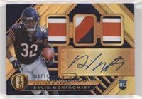 Rookie Jersey Autographs Triple Premium - David Montgomery #/19