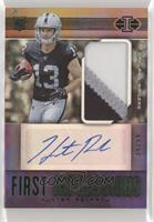 First Impressions Autographed Memorabilia - Hunter Renfrow #/99