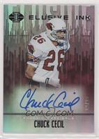 Chuck Cecil #/25