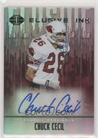 Chuck Cecil #/50