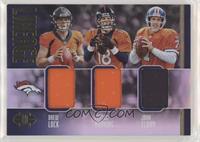 Drew Lock, John Elway, Peyton Manning