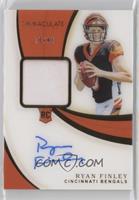 Rookie Patch Autographs - Ryan Finley #/99