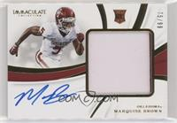 Marquise Brown [Noted] #/99