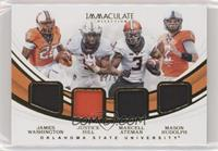 James Washington, Justice Hill, Marcell Ateman, Mason Rudolph /99