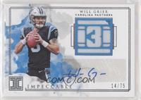 Will Grier #/75