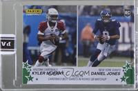 Kyler Murray, Daniel Jones [Uncirculated] #/10