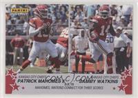 Patrick Mahomes II, Sammy Watkins /76