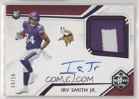 Rookie Patch Autographs - Irv Smith Jr. #/10