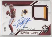 Rookie Patch Autographs - Dwayne Haskins #/25