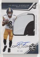Rookie Patch Autographs Variations - Diontae Johnson #/49