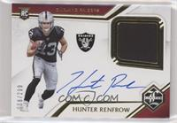 Rookie Patch Autographs - Hunter Renfrow #/299
