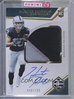 Rookie Patch Autographs Variations - Hunter Renfrow [Uncirculated] #/199