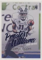 Rookies Luminance - Preston Williams #/99