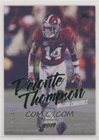 Rookies Luminance - Deionte Thompson #/49