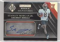 Majestic Rookie Signatures - Stanley Morgan Jr. [EX to NM] #/25