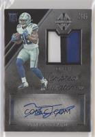 Rookie Scripted Swatches - Tony Pollard [EXtoNM] #/199