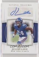 Rookie Signatures - Julian Love #/49