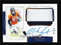 Rookie Patch Autographs - Noah Fant #/10
