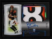 Rookie Patch Autographs - Ryan Finley [Noted] #/20