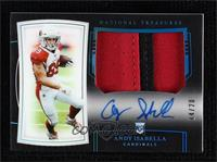 Rookie Patch Autographs - Andy Isabella #/20