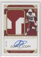 College Materials Signatures - James Williams #/10