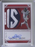 College Materials Signatures - A.J. Brown #/1