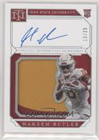 College Materials Signatures - Hakeem Butler #/25