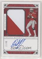 College Materials Signatures - Dwayne Haskins #/99