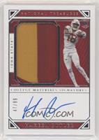 College Materials Signatures - Hakeem Butler #/99